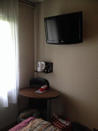 Hotel Inn Design Resto Novo Langres : Coin déj, RV
