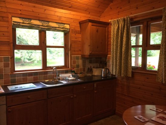 Ford Farm Lodges: Nice little kitchen
