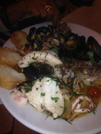 Locanda del Marinaio: zuppa di pesce fantastica