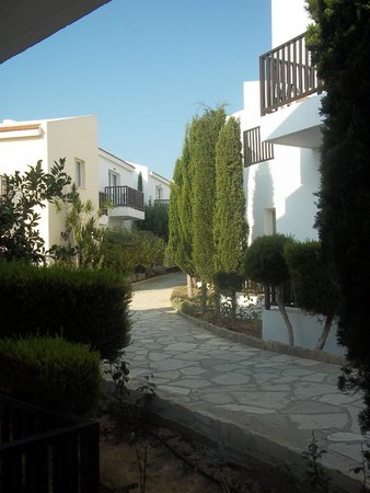Akti Beach Village Resort: View from room 306