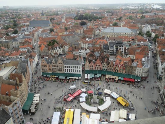 Grand-Place : View of the Markt from the Belfry