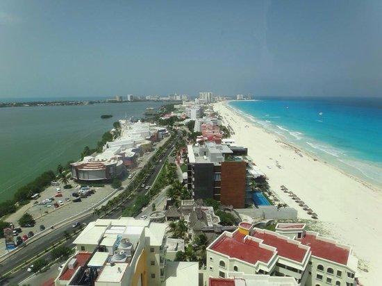 Beach Palace: Cancún desde Terraza Sky