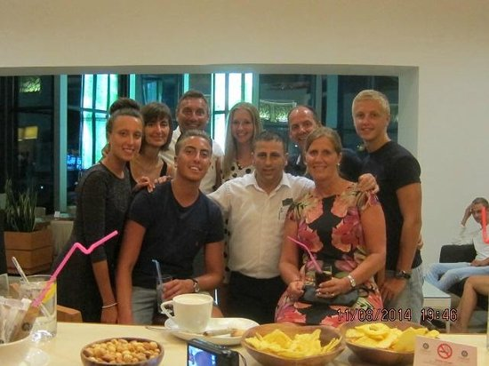 Cornelia De Luxe Resort: Caner Aslan the barman became one of the family