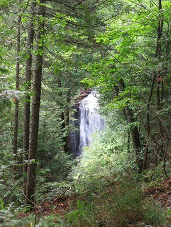 Approaching Miners Falls Pictured Rocks NLS August 2014 IMG_9946