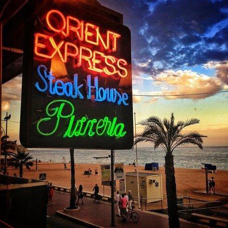 Orient Express Restaurant : Orient Express Lloret de Mar