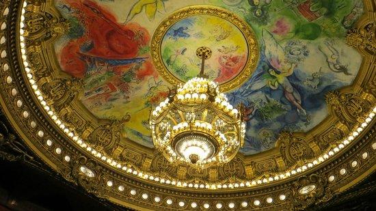 Opéra Garnier : Потолок над партером