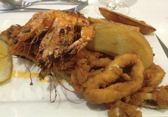 The Wreck Restaurant: fruits de mer