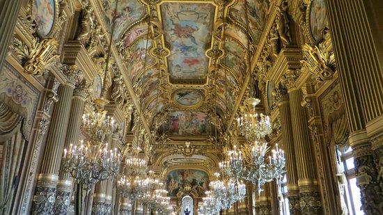 Opéra Garnier : Потолок галереи