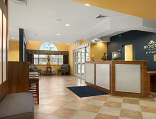 Microtel Inn & Suites by Wyndham Chili/Rochester Airport: Front Desk/Lobby