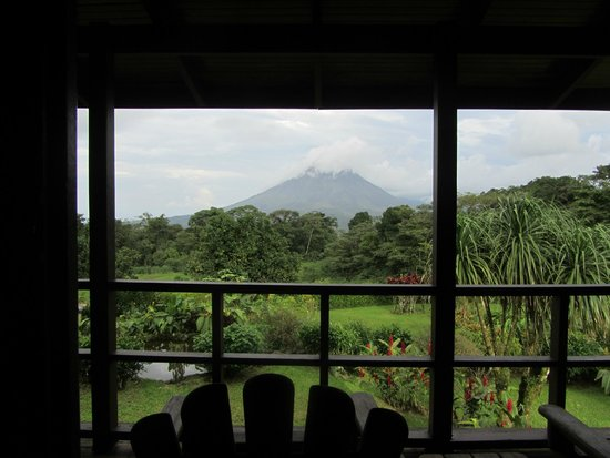 Arenal Lodge: beautiful view