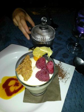 La nef des fous : verrine framboise-speculos façon cheese cake