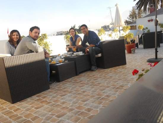 Beausejour Boutique Hotel: terrasse beausejout