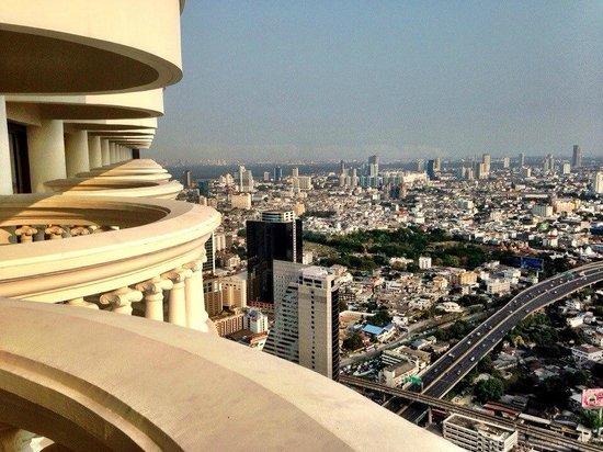 Tower Club at Lebua: Бешеный вид!