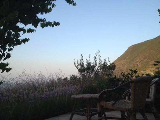 Hotel Ravesi: Our private porch