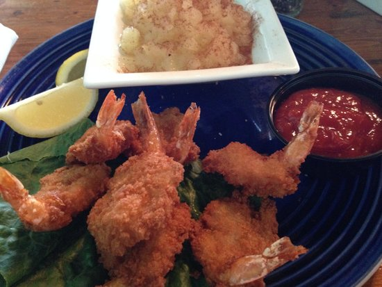 Woody's Dewey Beach Bar & Grill: Fry Shrimp