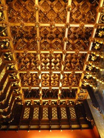 Palau Güell: soffitto