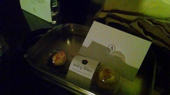 Archer Hotel New York: Melissa's cupcake goodnight