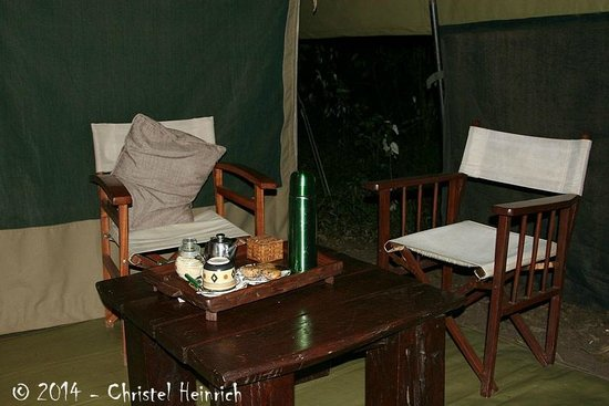 Mara Bush Camp: Morning-Tea