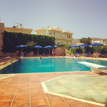 Christina Beach Hotel : swimming pool