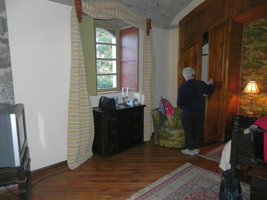 Hacienda La Cienega : Sclafzimmer der Suite 7