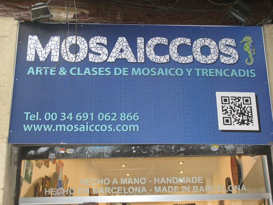 Mosaiccos: Look for this sign!