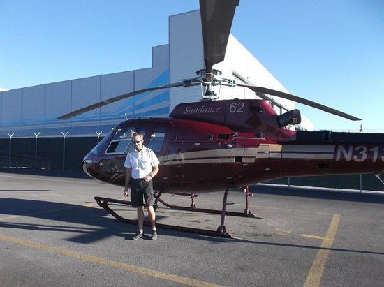 Sundance Helicopters: Our pilot & helicoptor