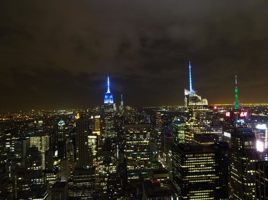 Observatorio Top of the Rock: By night