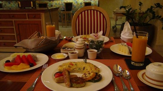 Souq Waqif Boutique Hotels by Tivoli: This was our early breakfast
