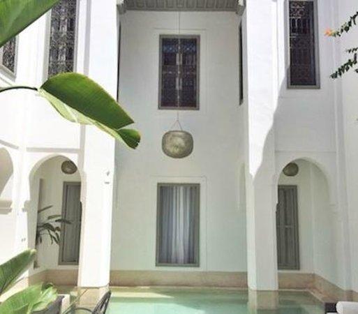 Riad Snan13: patio principal