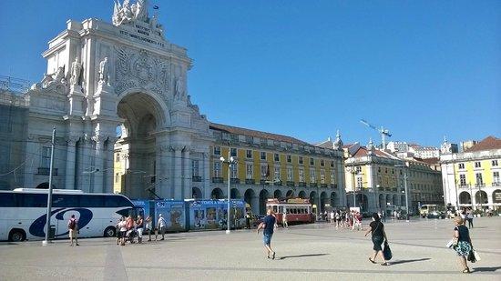 Praça do Comércio (Terreiro do Paço) : Plaza del Comercio