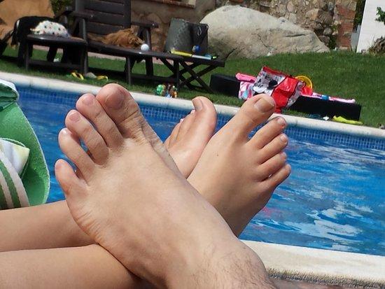 Hotel Can Galvany: piscina