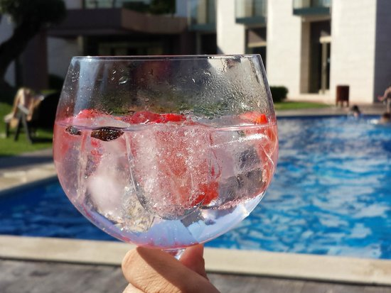 Hotel Can Galvany: gin