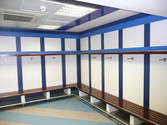 Santiago Bernabeu Stadium: Away dressing room