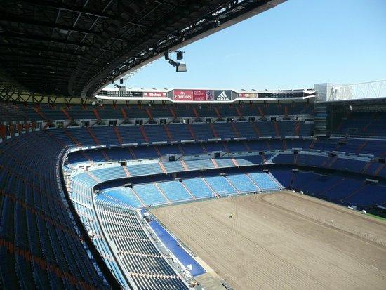 Santiago Bernabeu Stadium: View from the top