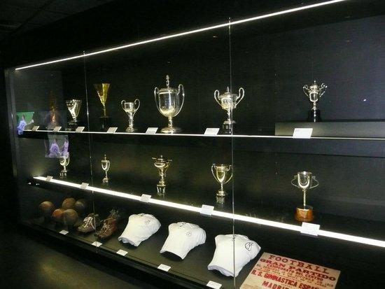 Santiago Bernabeu Stadium: Trophy room