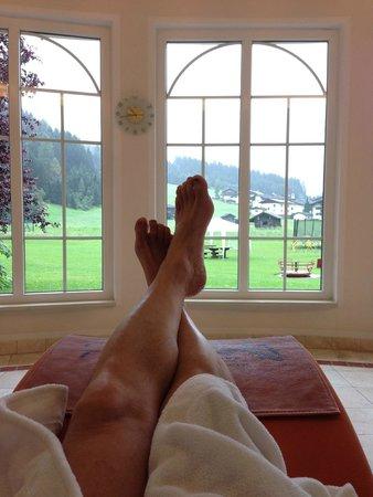 Vitalhotel Edelweiss: relax panoramico