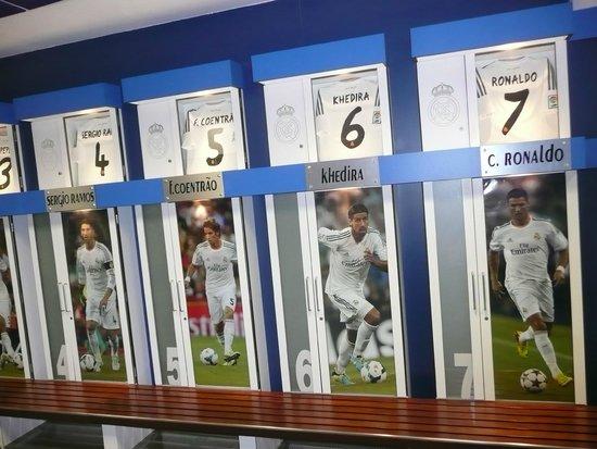 Stadio Santiago Bernabeu: Home dressing room