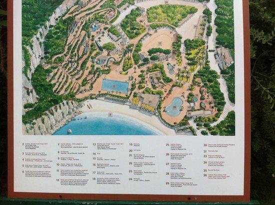Negombo Giardini Termali : mappa Negomo