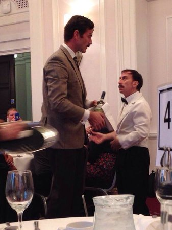 Faulty Towers the Dining Experience: Basil and Manuel!