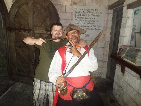 Pirates of Nassau Museum: Funny pirates