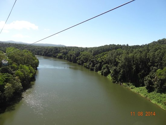 Down Under Tours - Day Tours: River from the cable car