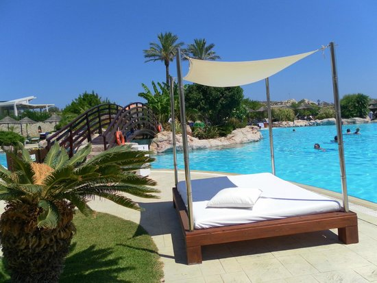 Atlantica Imperial Resort & Spa: You can hire covered sunbeds from £15 a day
