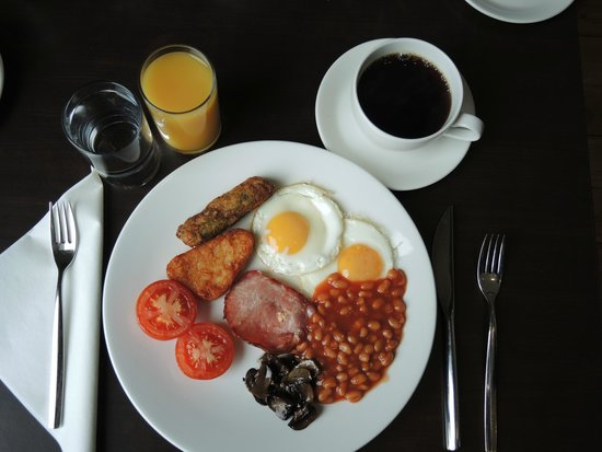 Novotel London Greenwich: English Breakfast - alles da!
