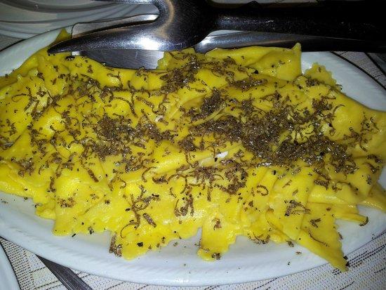 Ristorante Il Palazzo: tortelli tartufo