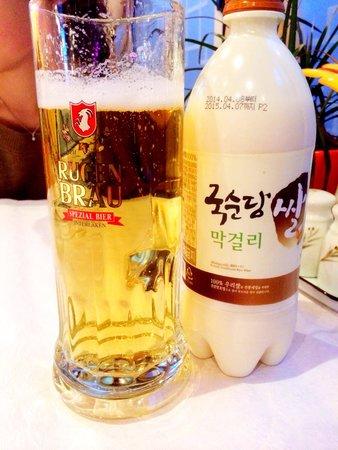 Kang Chon Central: Rügenbrau & Rice Wine