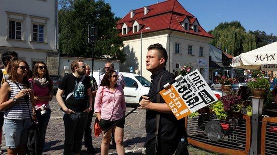 Krakow Free Walking Tour: Tour durch das Jüdische Viertel mit Jacek