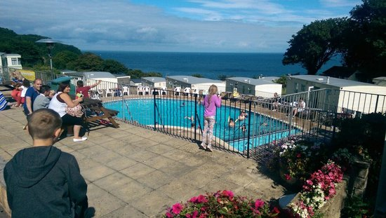 Sandaway Beach Holiday Park: Great view