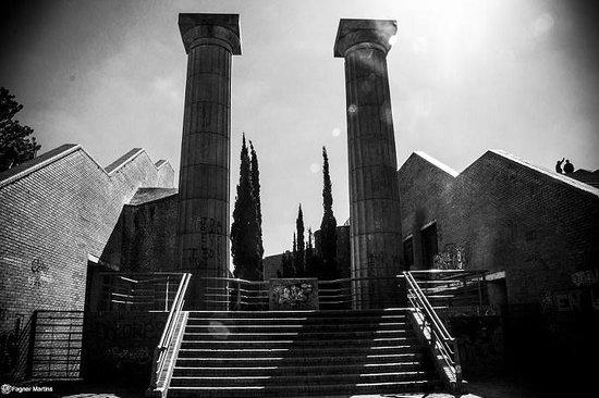 Parque de Espana : Escadaria