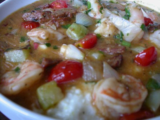 Founding Farmers : Scrumptious Low South Grits and Shrimps