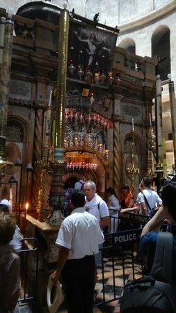 Église du Saint-Sépulcre (Jérusalem) : часовня Гроба Господня